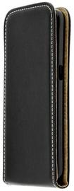 Forcell Flexi Slim Flip Vertical Case For Samsung Galaxy J3 J330F Black