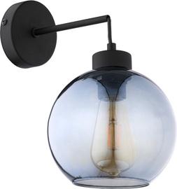 TK Lighting Cubus 4138 Wall Lamp 60W E27 Black