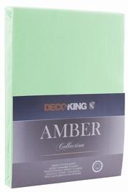 DecoKing Amber Bedsheet 80-90x200 Mint