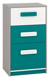 ML Meble Chest Of Drawers IQ 17 Turquoise