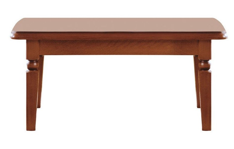 Kafijas galdiņš Black Red White Bawaria, valriekstu, 1200x680x540 mm