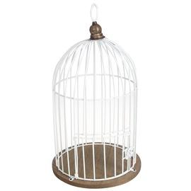 4Living Decorative Bird Cage 22x40.5cm White