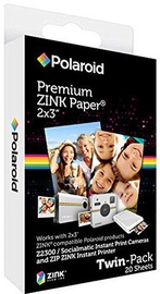 Polaroid 2x3 Premium ZINK Photo Paper 20 Sheets