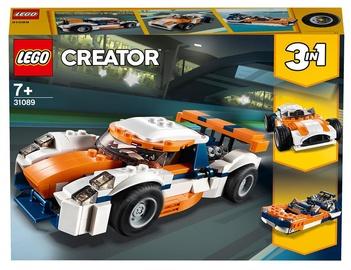 Конструктор LEGO Creator Оранжевый гоночный автомобиль 31089, 221 шт.