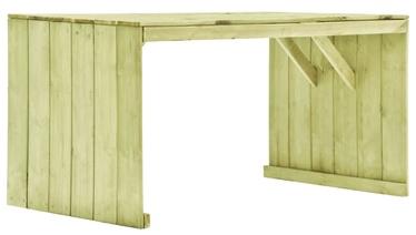 Садовый стол 49034, коричневый