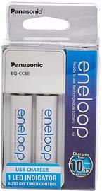 Panasonic Eneloop BQ-CC80 + 2 x AA 1900mAh