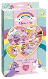 Dekoravimo rinkinys Totum Unicorn Diamond Painting Garland 071056