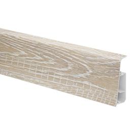 Põrandaliist Salag LIMA LY0001, 2500 mm x 72 mm x 25 mm