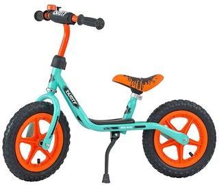 Vaikiškas dviratis Milly Mally Dusty 12'' Balance Bike Pistachio Orange 3302