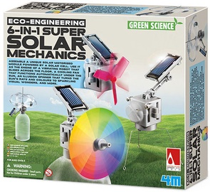4M Super Solar Mechanics 6in1 3401