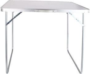 Turistinis stalas Verners Silver, 80 x 70 x 60 cm