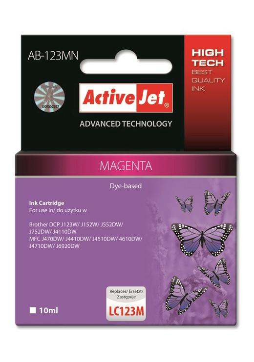 ActiveJet Cartridge AB-123MN 10ml Magenta