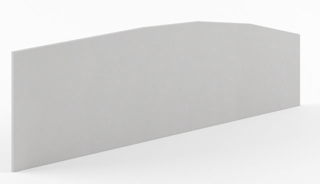 Skyland Simple SQ-1200 Privacy Divider 120x45cm Grey