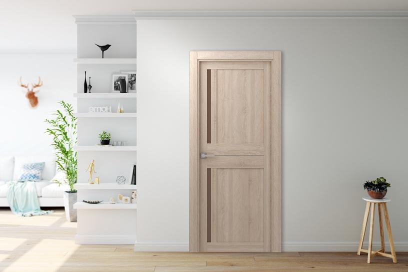 Полотно межкомнатной двери Belwooddoors Door Madrid Oak 80X200cm Brown