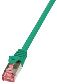LogiLink CAT 6 S/FTP Cable Green 1m
