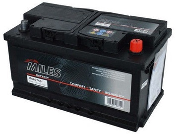 Miles M088750 Starter Battery 88Ah 750A