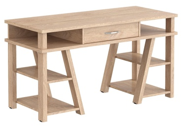 Skyland Comp CD 1459 Computer Desk 136x60cm Devon Oak