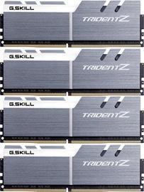 G.SKILL Trident Z Silver/White 64GB 3466MHz CL16 DDR4 KIT OF 4 F4-3466C16Q-64GTZSW