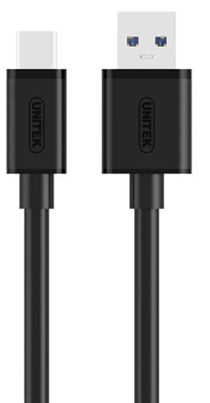 Unitek Cable USB / USB 1m Black