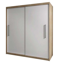 Idzczak Meble Rico 2D Wardrobe Sonoma Oak/White