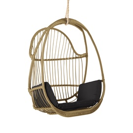 Krėslas Home4you Jussi Beige/Black