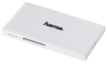 Hama Multi Card Reader USB 3.0 To SD/microSD/CF/MS White