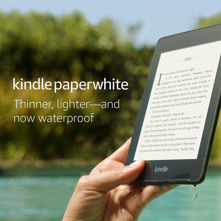Amazon Kindle Paperwhite 10 8GB Blue with Special Offers