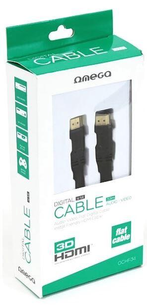 Omega Cable HDMI / HDMI Black 5m