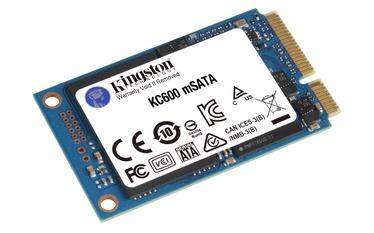 Cietais disks (SSD) Kingston KC600 mSATA, SSD, 1 TB