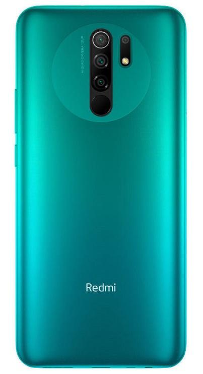 Mobilusis telefonas Xiaomi Redmi 9, žalias, 4GB/64GB