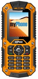 MyPhone HAMMER Dual Black/Orange ENG/RU