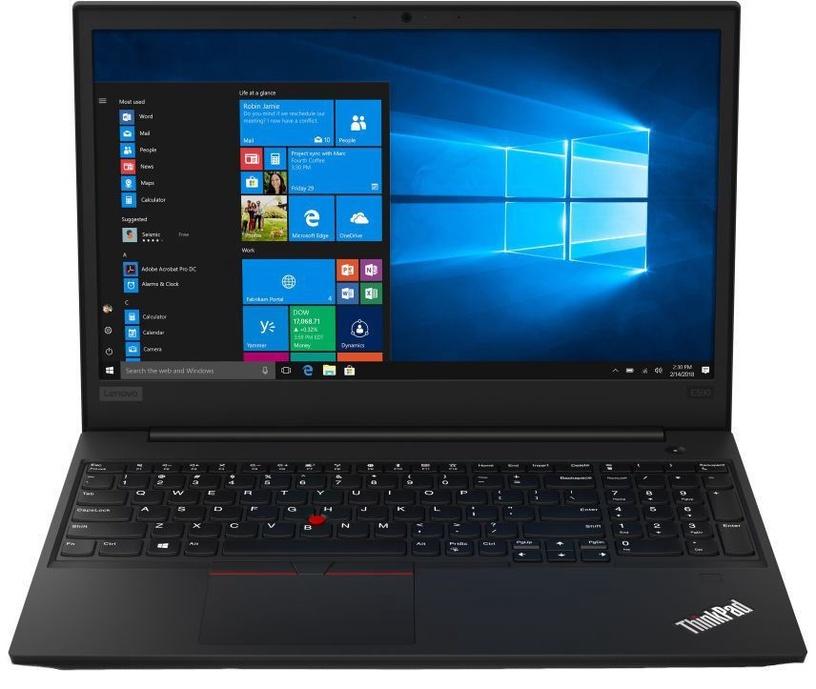 "Nešiojamas kompiuteris Lenovo ThinkPad E590 Black 20NB0012MH Intel® Core™ i7, 8GB/256GB, 15.6"""