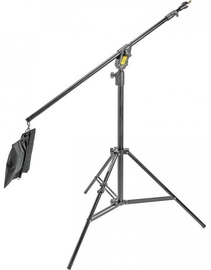 Manfrotto Combi-Boom Stand Aluminium With Sandbag 420B Black