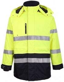 Pesso Winter Jacket Montreal Yellow/Navy M