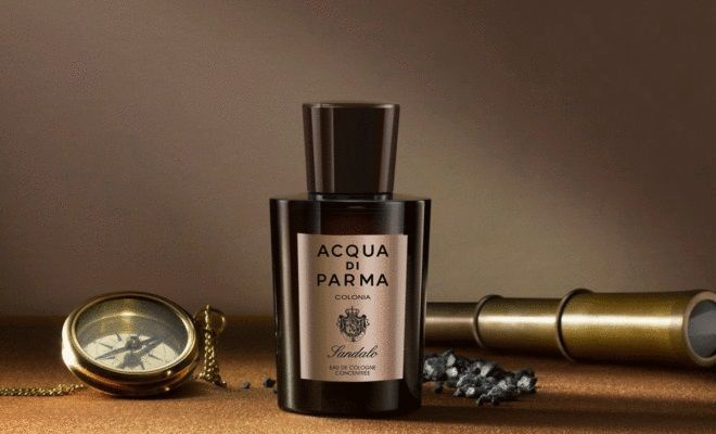 Набор для мужчин Acqua di Parma Colonia Sandalo 100 ml EDC + 75 ml Shower Gel + Candle