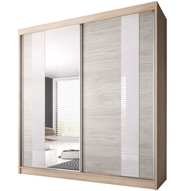 Idzczak Meble Wardrobe Multi II 32 203cm Sonoma Oak