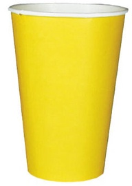 Pap Star Paper Glass 20cl 20pcs Yellow