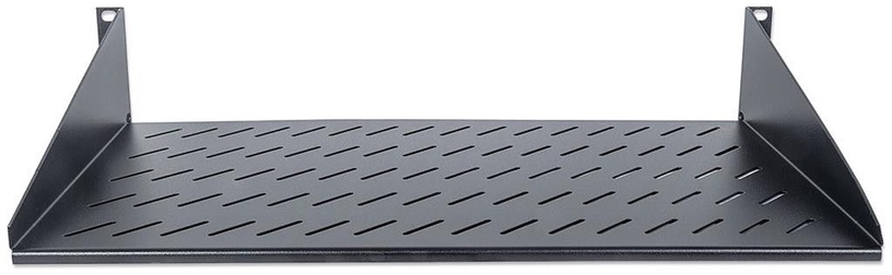 Intellinet Fixed Shelf 19'' 2U 250mm Black
