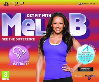 Get Fit with Mel B incl. Resistance Band PS3