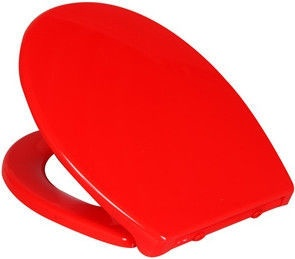 Verners Miami Soft Close Toilet Lid Red
