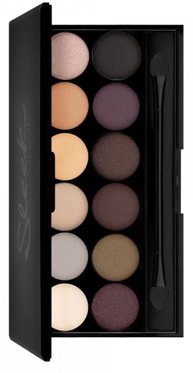 Acu ēnas Sleek MakeUP i-Divine Palette Au Naturel, 13 g