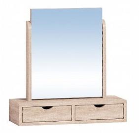 Glazov Sherlock 6 Chest Of Drawers 60x101x44cm Plus Sherlock 55 Mirror Beige