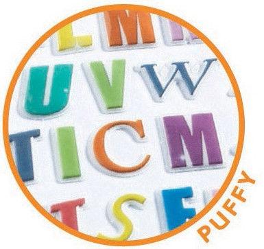 Djeco Mini Coloured Letter Stickers DJ09774