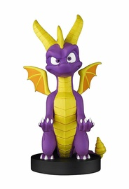 Exquisite Gaming Cable Guys: Spyro The Dragon Spyro Phone And Controller Holder Incl. Type-C USB Cable