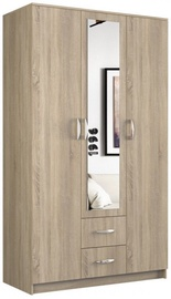 Skapis Top E Shop Romana Sonoma Oak, 120x52x205 cm, with mirror