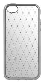 Чехол Beeyo Diamond Grid Back Case For Sony Xperia X Transparent