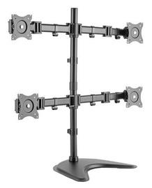"Televizoriaus laikiklis Digitus Quad Monitor Stand 15-27"""