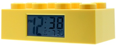 ClicTime LEGO Brick Alarm Clock Yellow
