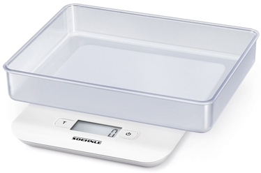 Soehnle Electronic Kitchen Scales Compact White