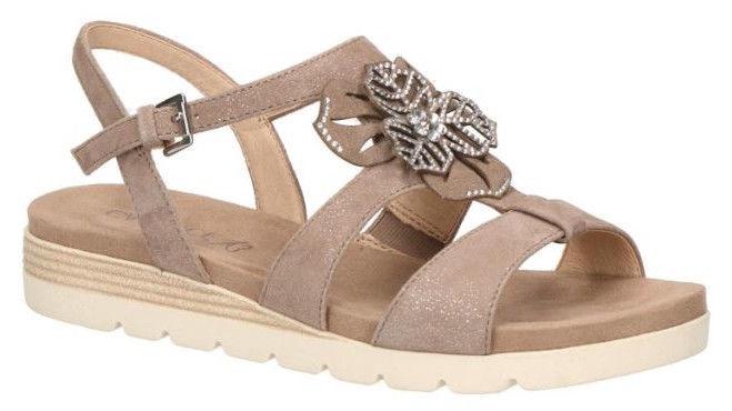 Basutės, Caprice Sandals 9/9-28105/22 Grey 39
